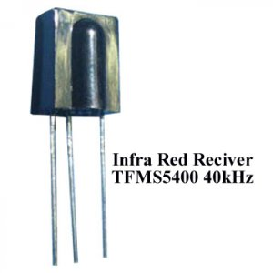 5pcs- Infra Red Reciver 40kHz TFMS5400 (Infrared IR)