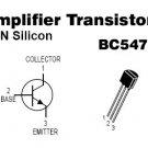 100pcs - BC547 NPN Transistors ( BC547B BC 547 B )
