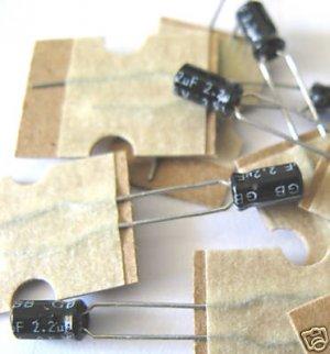 50pcs - 2.2uF Electrolytic Capacitor 35V 2.2  2.2MF uF