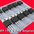 10pcs - LM7805 1Amp POSITIVE REGULATOR LM 7805