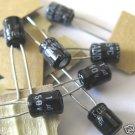 50pcs - 1uF Electrolytic Capacitor 50V 1 MF 1.0MF 1.0uF