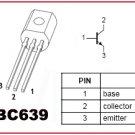 50pcs - BC639 NPN transistors (BC 639 BC639-16)