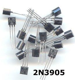 50pcs - 2N3905 (2N 3905 N3905) PNP transistors