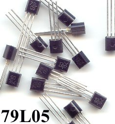25pcs - 79L05 -5V 100mA NEGETIVE REGULATOR