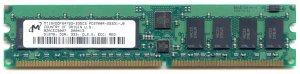 512MB PC2700 333Mhz DDR ECC SDRAM 184-PIN CL2.5 -Micron