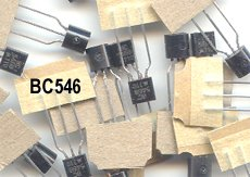 50pcs - BC546 NPN Transistors (BC 546 BC546B)