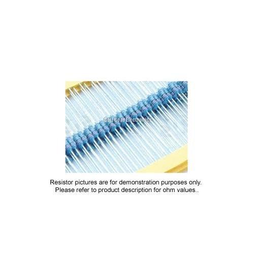 25pcs - 27K Ohm Resistors 1/4W 1% (27000 ohm metal film