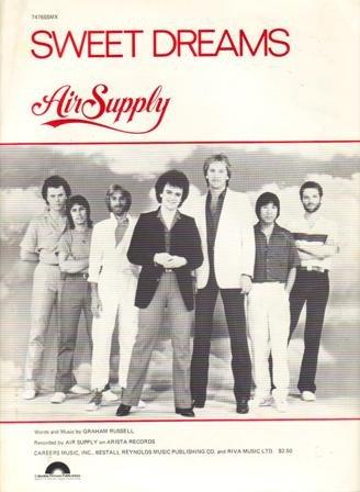 "Sheet Music, ""Sweet Dreams"" by Air Supply, 1981"