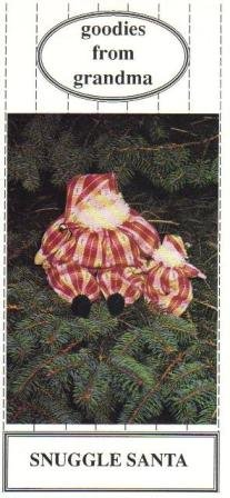 Goodies From Grandma, Snuggle  Santa Pattern