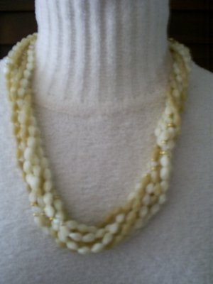 Vintage Multi-Strand Necklace, 24""