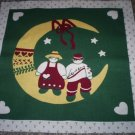 "Christmas Craft Panel 13 1/2"" X 13 1/2""  Moon"