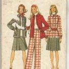 Vintage Simplicity Pattern #5455, Size 12