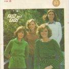 Vintage Butterick Pattern #5634, Size 8