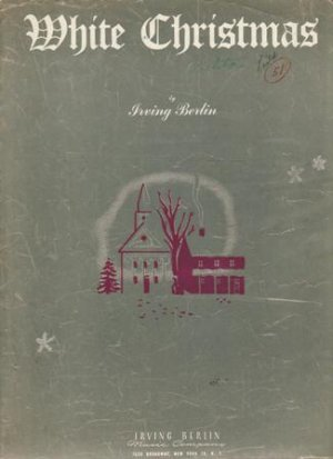 White Christmas Sheet Music, 1942
