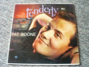 Pat Boone,  Tenderly, 33 1/3 LP Record,1959