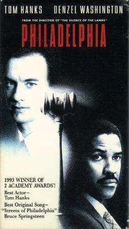 VHS Movie,  Philadelphia  Rated PG-13