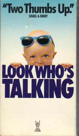 VHS Movie, Look Who's Talking  Rated PG-13