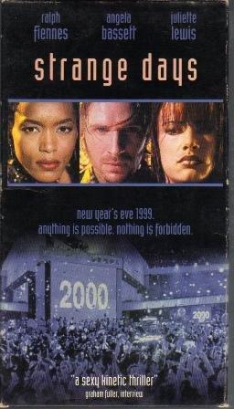 Strange Days, VHS Movie, Rated R