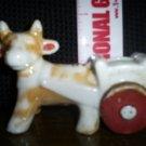Vintage Cow Decorator  Planter