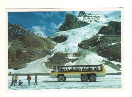 Postcard,  The Canadian Rockies, Jasper Ntl. Park, Very Good Condition