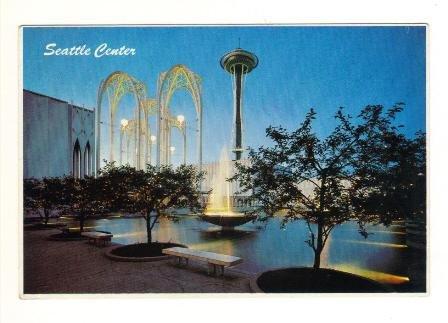 Vintage Postcard, Seattle Center, Very Good Condition