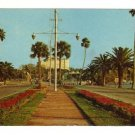 Vintage Postcard, Causeway connecting Clearwater Beach with mainland, Very Good Condition