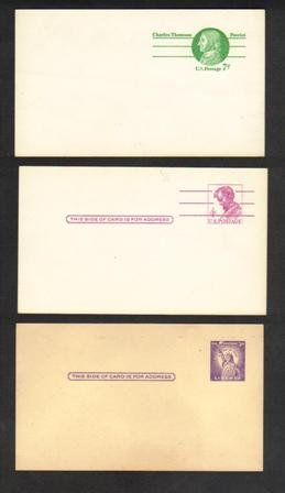 Three Vintage Postcards, Very Good Condition (Unused)