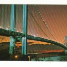 New Vintage Postcard, The Verranzana, Narrows Bridge,  Very Good Condition