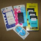 Nice assortment of sewing needles