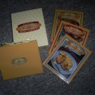 Collection of Three Cook Books and Recipe Organizer, New Set