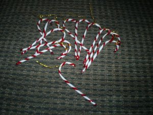 One Dozen Candy Canes, New