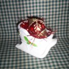 Christmas Sleigh and Vintage  Glass Christmas Ornament