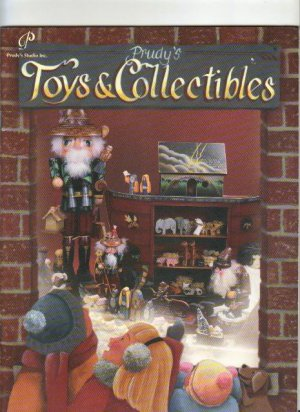 Prudy's Toys and Collectibles, Wood Designs and Acrylic Painting Book