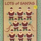 Lots of Santas, by Margaret Wilburn,  Acrylic Painting  1992