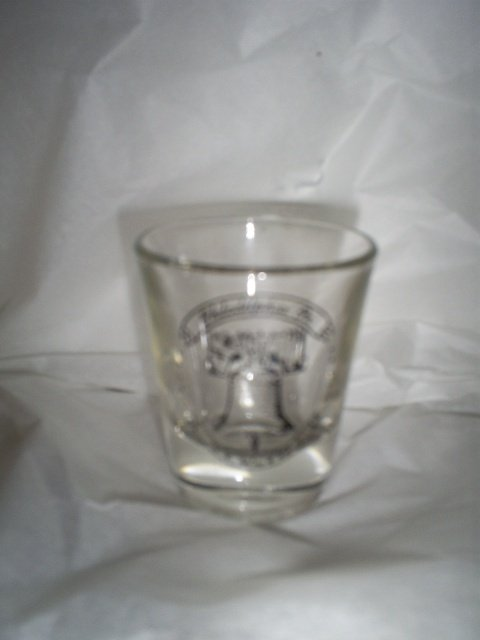 Shot Glass, Philadelphia, PA  souvenir