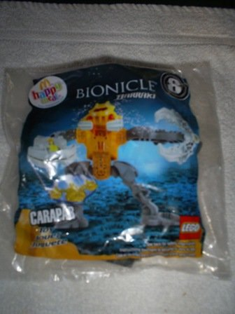 Bionicle Barraki, McDonald Happy Meal Toy # 8, 2007