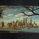 Vintage Postcard, Lower Manhattan from Governor's Island, Very  Good Condition