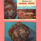 Greetings from Holbrook, Arizona, Vintage Scallop Edge Postcards, Very Good Condition