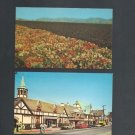 Solvang, California, Two Vintage Postcards, Very Good Condition