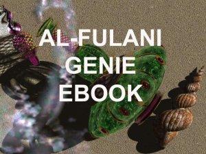 Al-Fulani Genie Ebook on Compact Disc