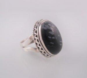 Great Goth Gargoyle Haunted Ring sz 6.5 Sterling Silver 925
