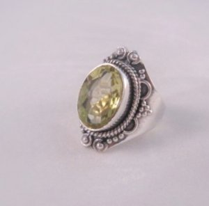 Beautiful Water Fairy Ring sz 6.5 Haunted Item Rugen Germany