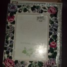 NOS Jennifer Moore Floral 5x7 Picture Frame