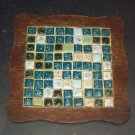 Mosaic Tile Trivet Mid-Century