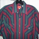 ELY PLAINS Western Pearl Snap Shirt - Men&#39;s L