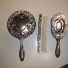 Silverplate Dresser Set