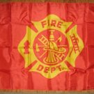 GENERIC FIRE DEPATMENT FLAG 3X5 3 X 5 VERY NICE NEW