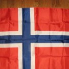 NORWAY NATIONAL FLAG 3X5 3 X 5 VERY NICE NEW