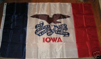 IOWA STATE FLAG SIZE 3X5 3 X 5 NEW