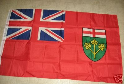 CANADA ONTARIO PROVINCE FLAG 3 X 5 3X5 NEW